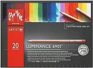 CREATIVE ART MATERIALS Caran D'ache Luminance Colored Pencil Set of 20 (6901.720)