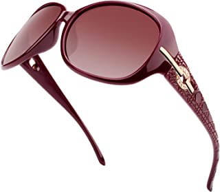 Polarized Sunglasses for Women Oversized Sun Glasses Fashion Shades SUNIER S85