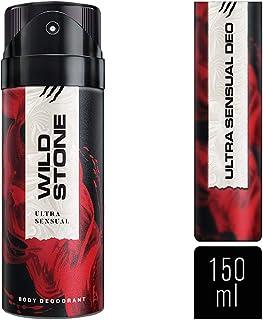 Wild Stone Ultra Sensual Deodorant For Men, 150ml