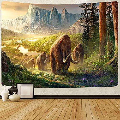 Puzzle 1000 piezas Cuadro elefante del bosque profundo puzzle 1000 piezas paisajes Rompecabezas de juguete de descompresión intelectual educativo divertido juego familiar para50x75cm(20x30inch)
