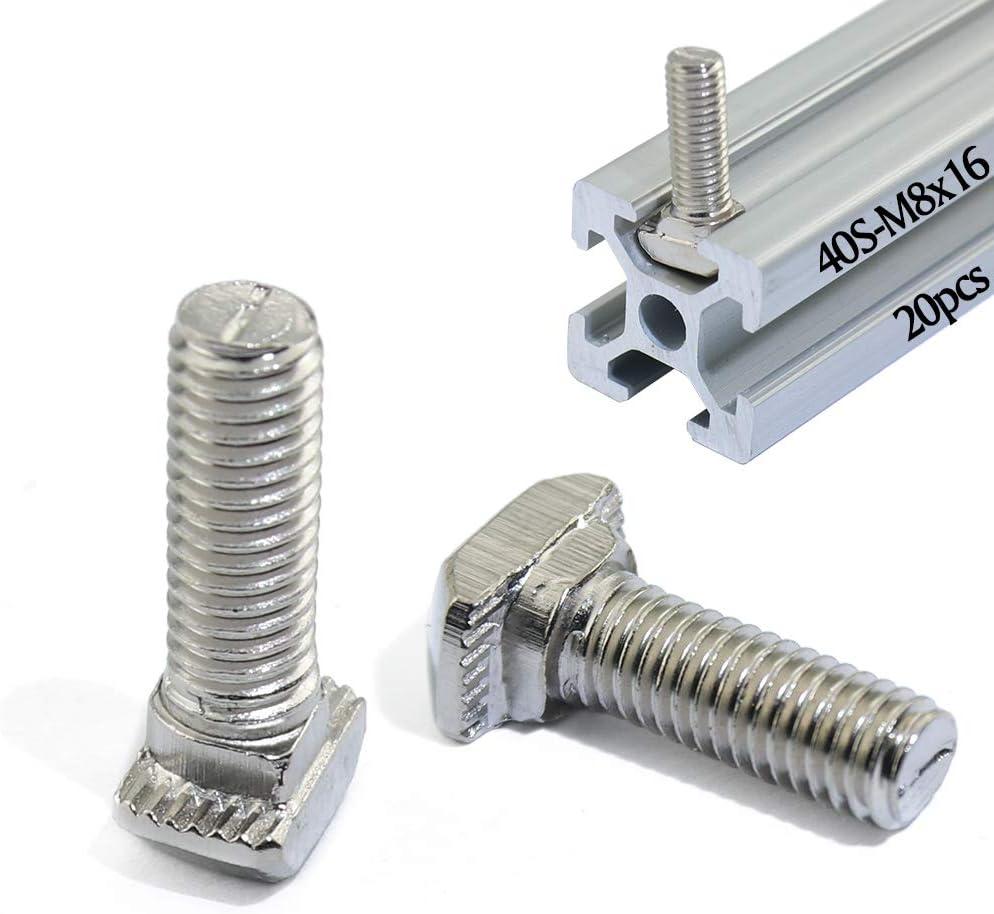 Boeray San Antonio Mall Metric M8 x 16mm Thread Hammer Slot Drop-in T-Bolt Direct sale of manufacturer Bolt T