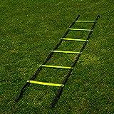FORZA Échelle de Vitesse l'Entraînement de Football – Entraînement d'Agilité et Coordination (3m o 6m) (3m – 6 Barreaux)