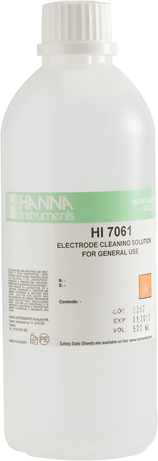 Hanna Instruments HI7061L Super special price General Sol Purpose List price Electrode Cleaning