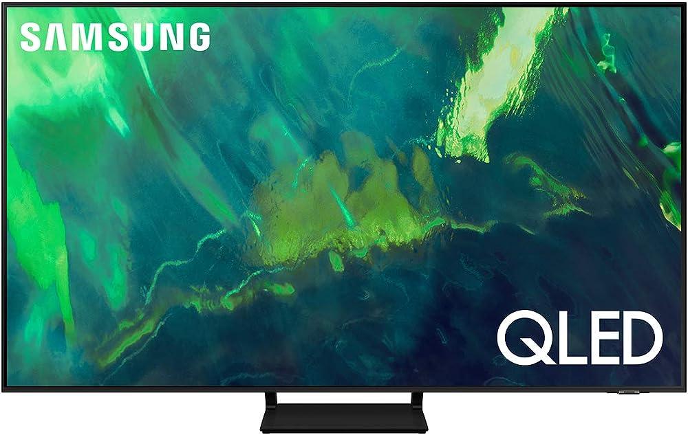 Samsung smart tv qled risoluzione 4k uhd processore quantum 4k quantum dot ots 55 pollici dual led 2021 QE55Q70AATXZT