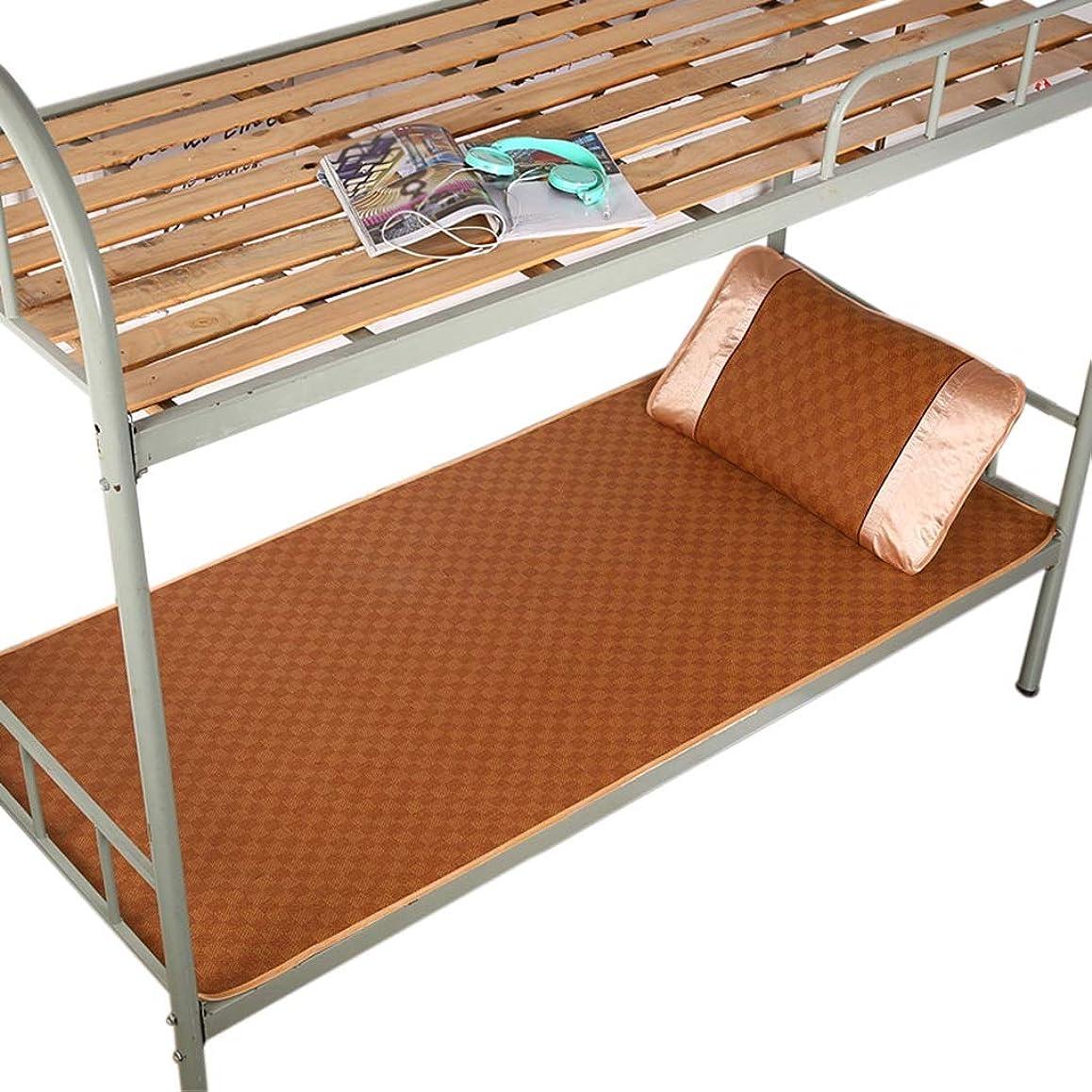不平を言う薬剤師傀儡夏折りたたみ涼しいパッド、学生子供の寮の部屋シングルベッドの自己冷却マットレスの大人の老人のアパートの睡眠パッド (Color : A, Size : 90*195CM)