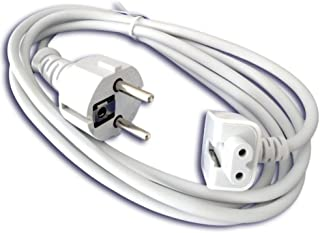 Extension Wall Cord Plug Eu Euro European Union Standard for Macbook 11 Inch 13 Inch 60w Macbook Pro 15- Or 17-inch 85w Power Adapter