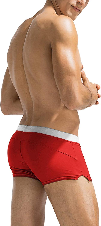 COOFANDY Mens Swim Trunk Swimwear Bathing Suit Board Short with Zipper Pocket