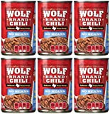 Wolf Brand No Beans Chili - 6/15 oz. Cans