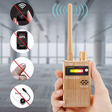 Dooreemee Anti-spy Electronic Bug Detector Hide Camera RF Signal Detector [Upgraded Version]