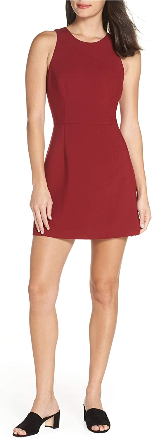 French Connection Women's Whisper Light Sacramento Mall Max 89% OFF Stretch Mini Solid Dress