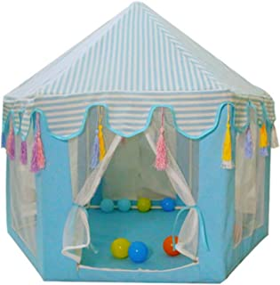 ANXINJIA Hexagonalt husdjurtält, tipi-tält, Mongoliskt hus hundsäng, kennel, kattbo avtagbart nättält, husdjurssäng för ka...