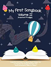 My First Songbook: Volume II (Preschool Prodigies My First Songbook Series) (Volume 2)
