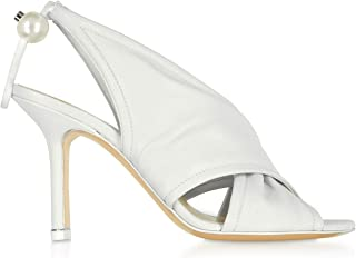 NICHOLAS KIRKWOOD Women's 909A80NL13W02 White Leather Heels