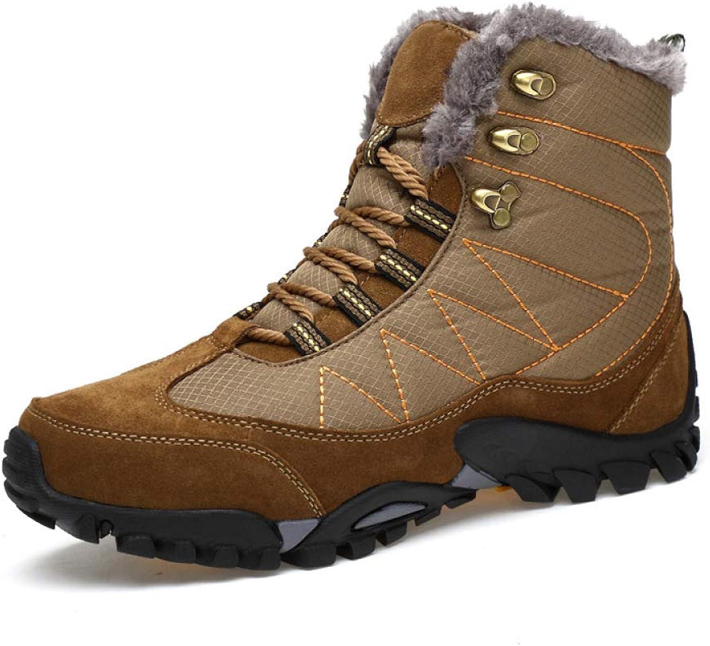 LIJUN Mens Snow Boots (Size  39-43)
