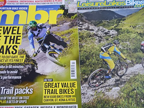 MBR Mountain bike rider magazine july 2014