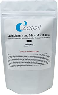 Zetpil Multi-Vitamin and Mineral with Iron