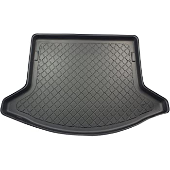 Black Carpet Insert carmats4u To fit CX-5 2012-2017 Fully Tailored PVC Boot Liner//Mat//Tray