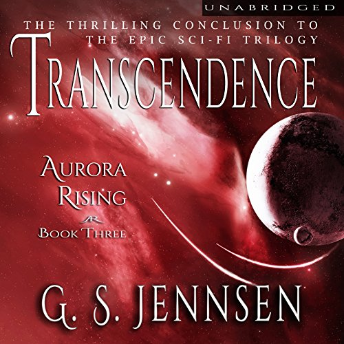 Transcendence     Aurora Rising, Book 3              By:                                                                                                                                 G. S. Jennsen                               Narrated by:                                                                                                                                 Pyper Down                      Length: 15 hrs and 10 mins     101 ratings     Overall 4.6
