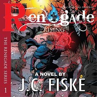 Renegade Rising audiobook cover art