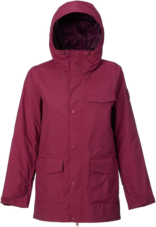 (sangria, XLarge)  Snow Jacket Women Burton Fremont Jacket