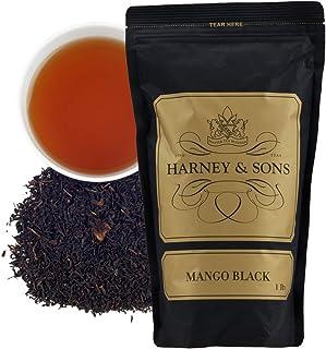 Harney & Sons Fine Teas, Black Tea, Loose Tea, Mango 16 Ounce / 1 Pound