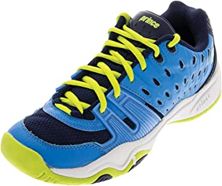 Prince T22 Cool Blue/Lime Junior Shoes
