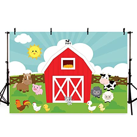 6x4ft Vinyl Cartoon Cabin Background Cartoon Fun Cabin Moon Fawn Fox Fun Photo Party Banner for Children Decorated Baby Shower Background LYLS829 for Party Decoration Birthday YouTube Videos School Ph