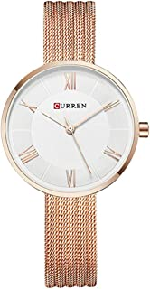 Curren Casual Watch For Women Analog Metal - C9020