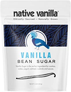 Sponsored Ad - Organic Vanilla Bean Sugar – Native Vanilla – Made from Premium Vanilla Bean Pods – For Chefs and Home Cook...