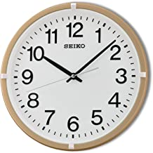Seiko Plastic Wall Clock (Pearlized Gold)