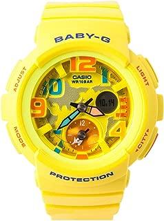 Casio Baby G Women BGA190-9B Year-Round Analog-Digital Automatic Yellow Watch
