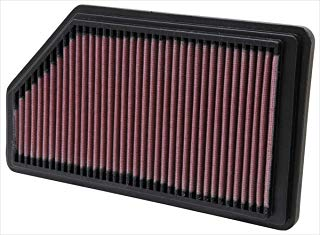 K&N engine air filter, washable and reusable: 2001-2008 Acura/Honda (MDX, Pilot) 33-2200