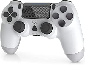 YAEYE Wireless Controller for PS-4, 1000mAh PS-4 Gamepad Joystick for PS-4/Pro/Slim Console with Dual Vibration Bluetooth ...