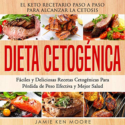 Dieta Cetogénica [Ketogenic Diet] audiobook cover art