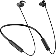 WeCool Soulmate Dual Driver Neckband Bluetooth Earphones with 10 Hours Playtime Bluetooth V 5.0 Noise Cancellation and IPX-5 Sweatproof (Version 2020)