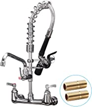 JZBRAIN Pre rinse Faucet 8 Inch Center 21