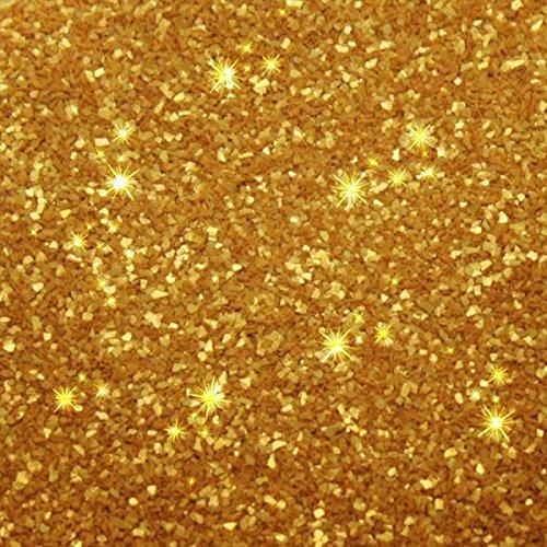 EDIBLE GLITTER - GOLD / GOLD - Essbarer Glitzer Farbe - Rainbow Dust + Ausstechform (Bundle)