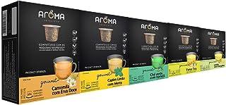 120 Cápsulas Para Nespresso - Kit Chá Funcional - Cápsula Aroma