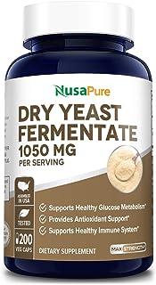 Dry Yeast Fermentate 1050mg 200 Veggie Caps (Vegan,Non-GMO & Gluten Free) Supports Healthy Immune System* , Antioxidant Su...