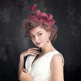 énorme réduction avant-garde de l'époque acheter en ligne Amazon.fr : Chapeau Bibi Mariage - Bandeaux, headbands et ...