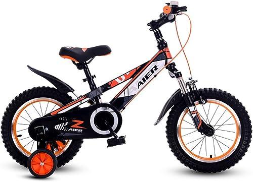 100% garantía genuina de contador Fenfen Bicicleta para Niños 12 14 16 pulgadas pulgadas pulgadas para hombres y mujeres que absorben los golpes Bicicleta para Niños de 2 a 8 años Bicicleta naranja  venta de ofertas