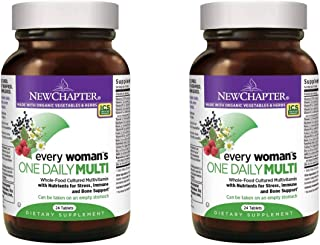 New Chapter Every Woman's One Daily Multi Complete Whole-Food Multivitamin as a Dietary Supplement (24 Vegetarian Tablets)...