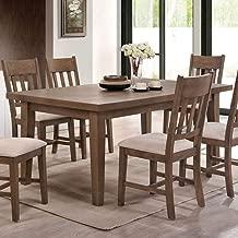 ACME Furniture 73060 Ulysses Dining Table, Weathered Oak