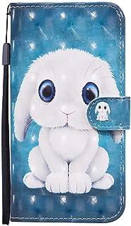 CRABOT Reemplazo para Samsung Galaxy A21S Funda 3D Visual Flip Wallet Cierre Diseño de Libro con Cierre Magnético[Ranuras ...