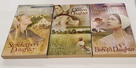 """""""Daughters of Lancaster County"""" series 3 books: """"""""The Storekeeper's Daughter,"""" """"The Quilter's Daughter,"""" and """"The Bishop's Daughter"""""""