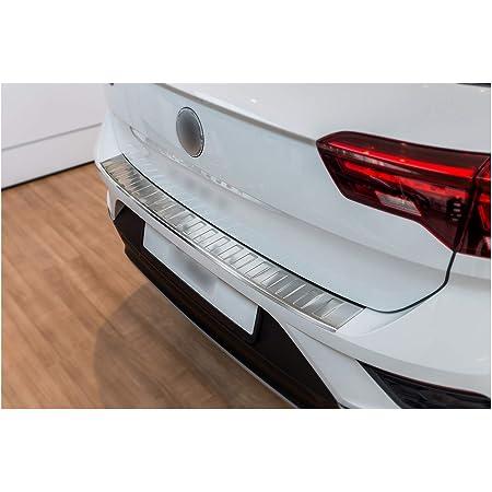 Tuning Art L343 Edelstahl Ladekantenschutz Für Vw T Roc A1 2017 5 Jahre Garantie Farbe Silber Auto