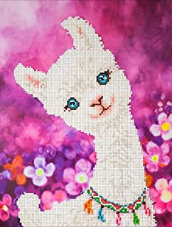 Diamond Painting Llamas 16X20 inches 5D DIY Full Round Drill Rhinestone Embroidery for Wall Decoration