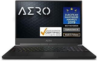 AERO 15X9世界初AIを搭載するゲーミングノートパソコン・All Intel Inside/Microsoft Azure AI/ 15.6インチ/144Hz FHD/RTX 2070 8G/ i7-8750H /Samsung 16G*1/1TB Intel SSD/ Windows 10