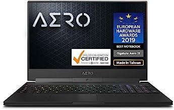 "Gigabyte Aero 15 Classic-Xa-U75AMP 15"" Thin Bezel UHD Auo IPS Adobe RGB 100%, i7-9750H, NVIDIA GeForce RTX 2070, Samsung 32GB RAM, M.2 PCIe 1TB SSD, Win10 Pro, Ultra Slim Metal Chassis Gaming Laptop"