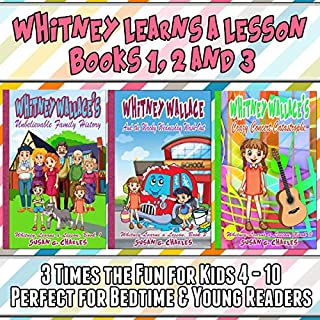 Whitney Learns a Lesson Books 1, 2 and 3 audiobook cover art